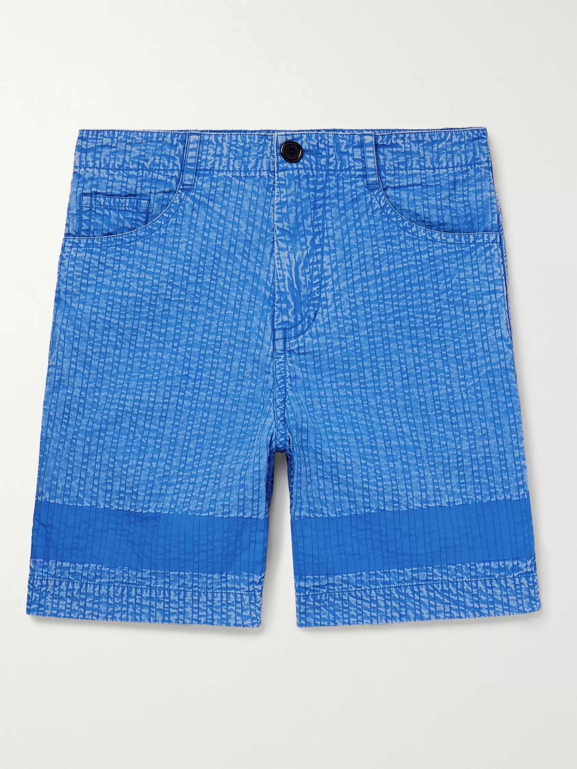 Craig Green Acid-Washed Cotton Shorts