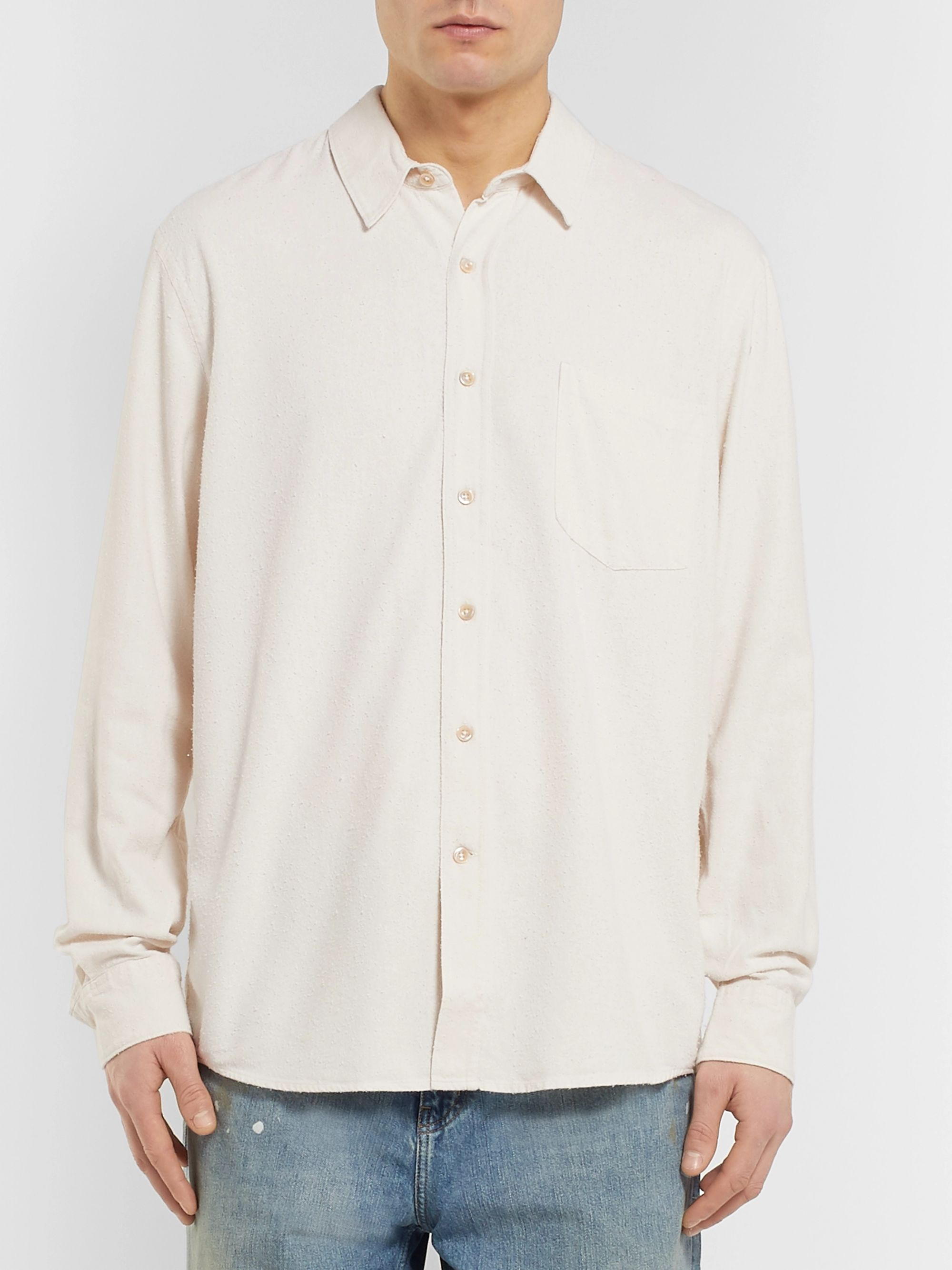Our Legacy Raw Silk Shirt