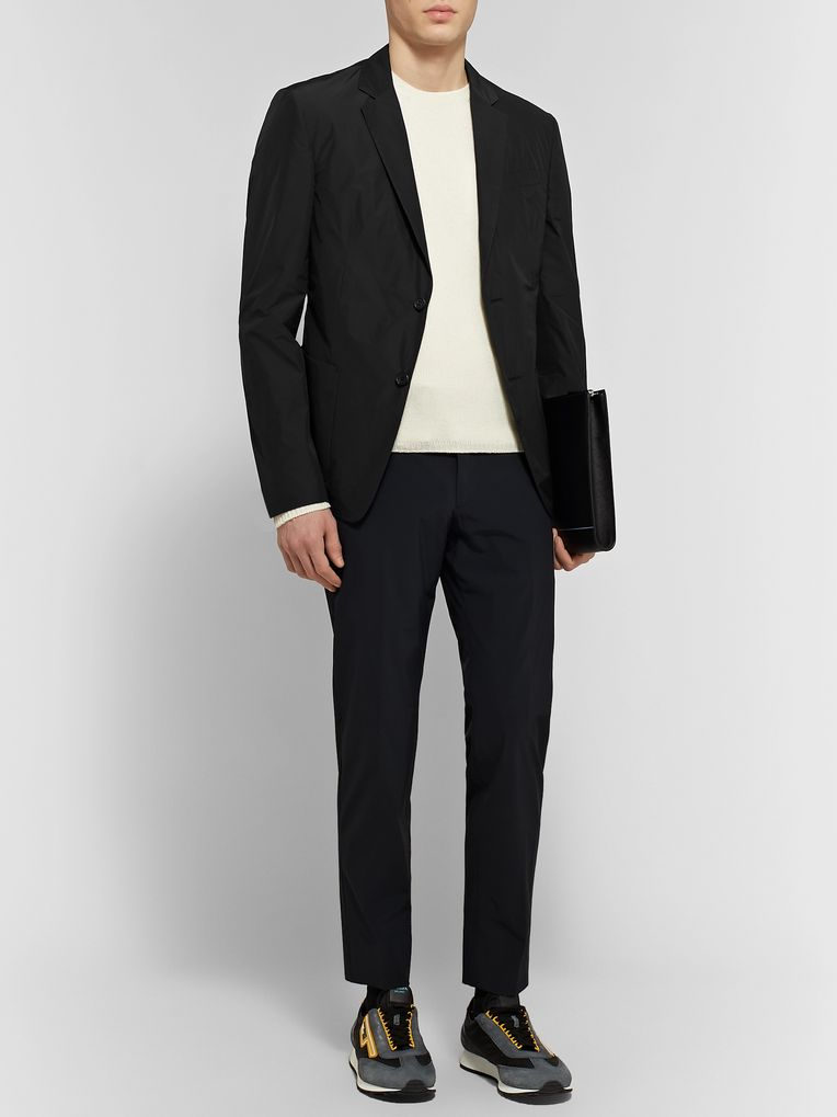 Prada Black Shell Blazer