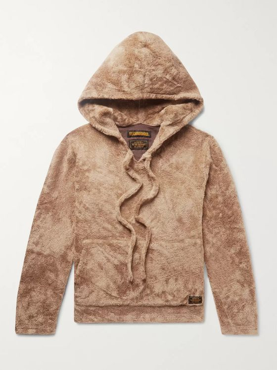 Neighborhood Faux Shearling Hoodie