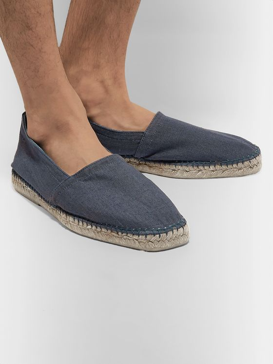 Orlebar Brown Canvas Espadrilles