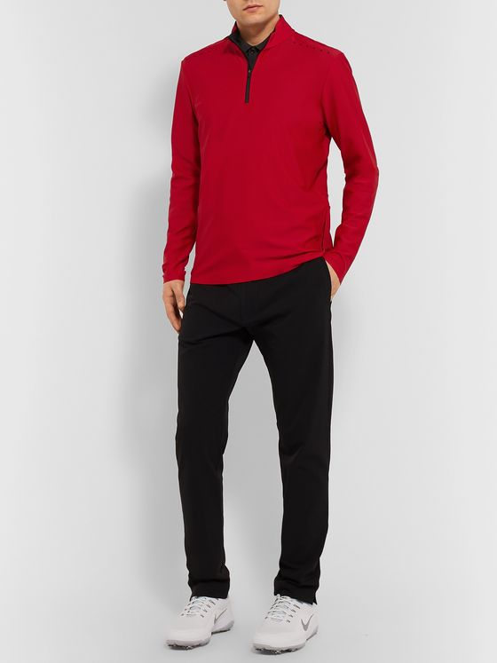 CASTORE Eden Stretch-Jersey Half-Zip Golf Top