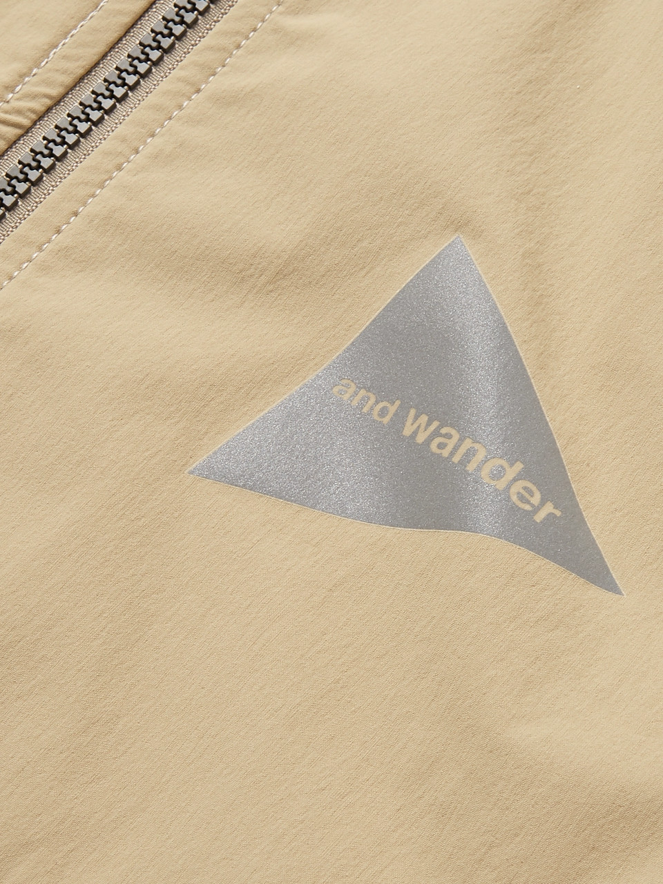 And Wander Waterproof Nylon-Blend Shell Hooded Jacket