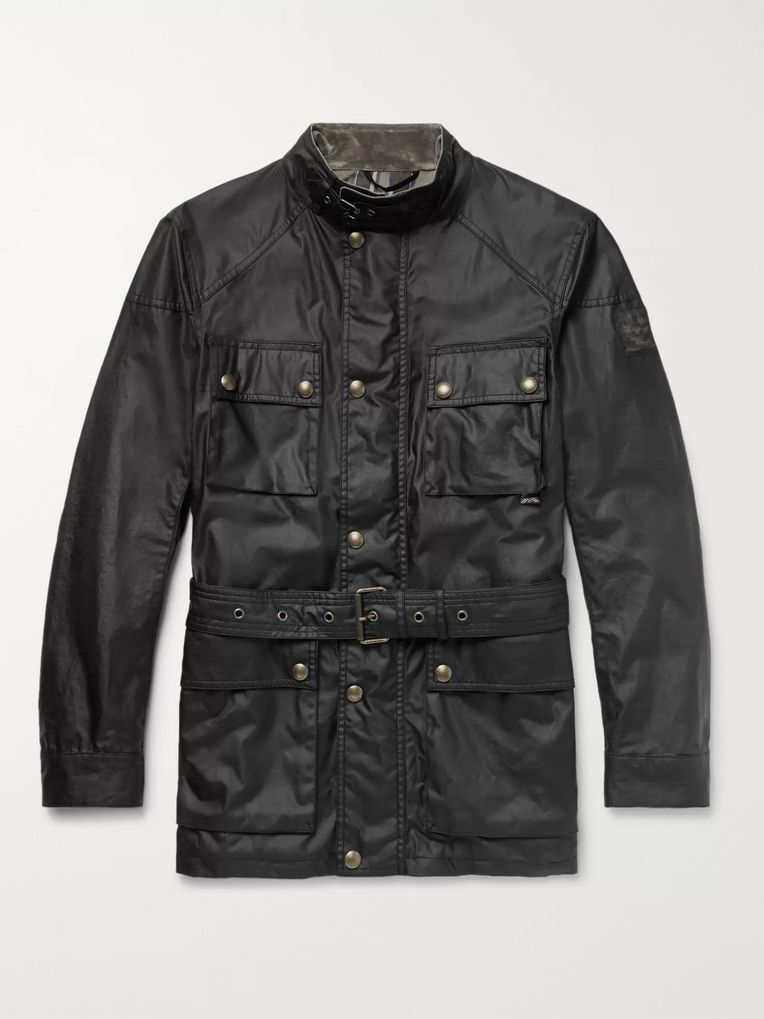 Belstaff Trialmaster Waxed-Cotton Jacket