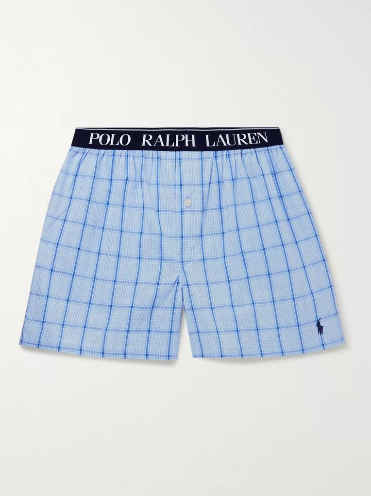 Polo Ralph Lauren George Checked Cotton Pyjama Shorts