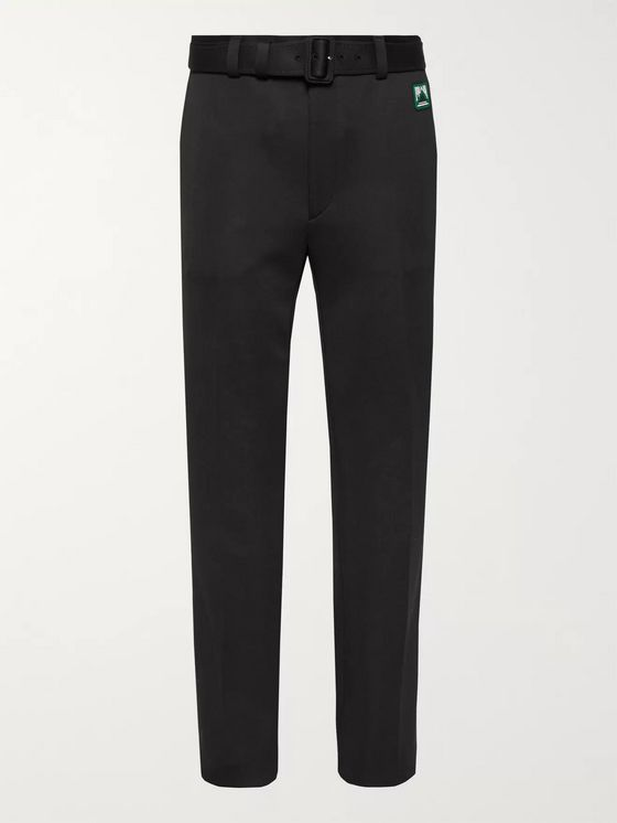 Prada Tech-Jersey Trousers