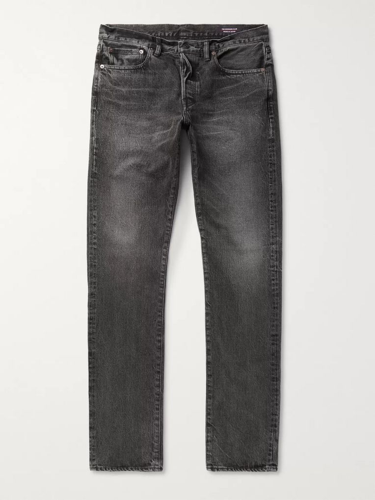 The Workers Club Slim-Fit Denim Jeans