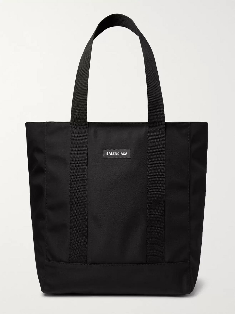 Balenciaga Logo-Appliquéd Canvas Tote Bag