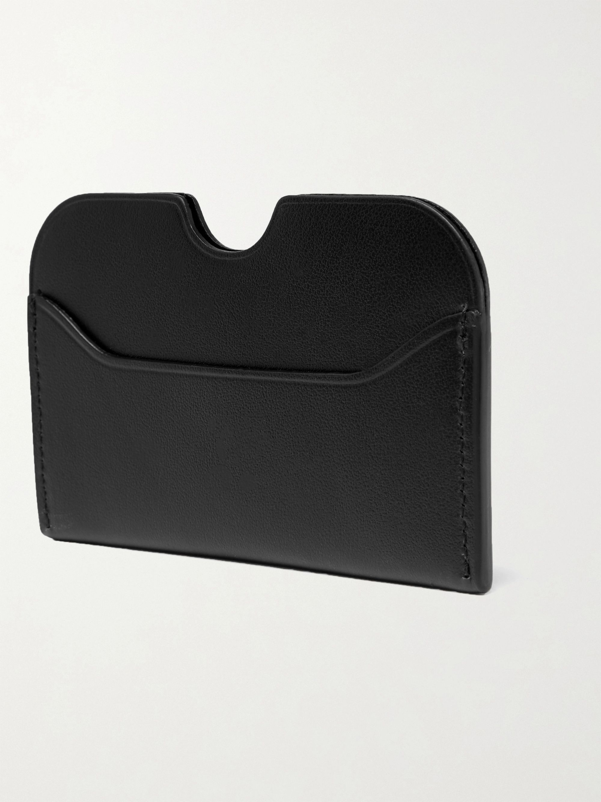 Acne Studios Elmas leather cardholder