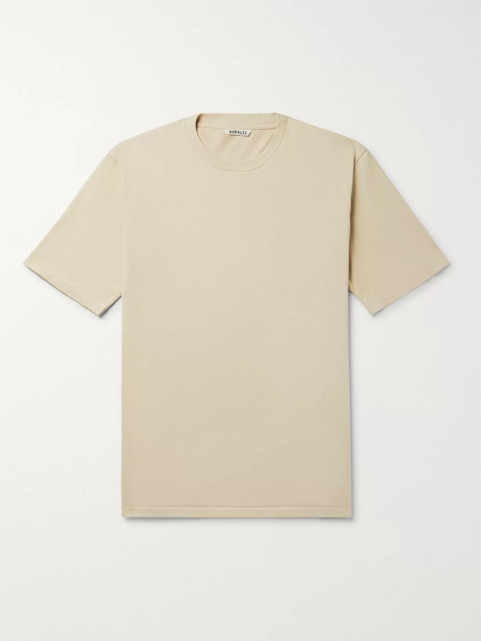 Auralee Cotton-Jersey T-Shirt