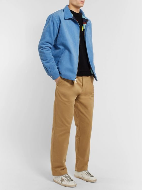 The Elder Statesman Cotton-Corduroy Jacket