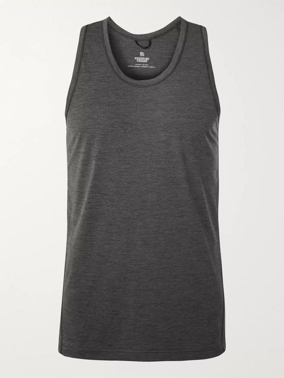 Reigning Champ Slim-Fit DeltaPeak Mesh Tank Top