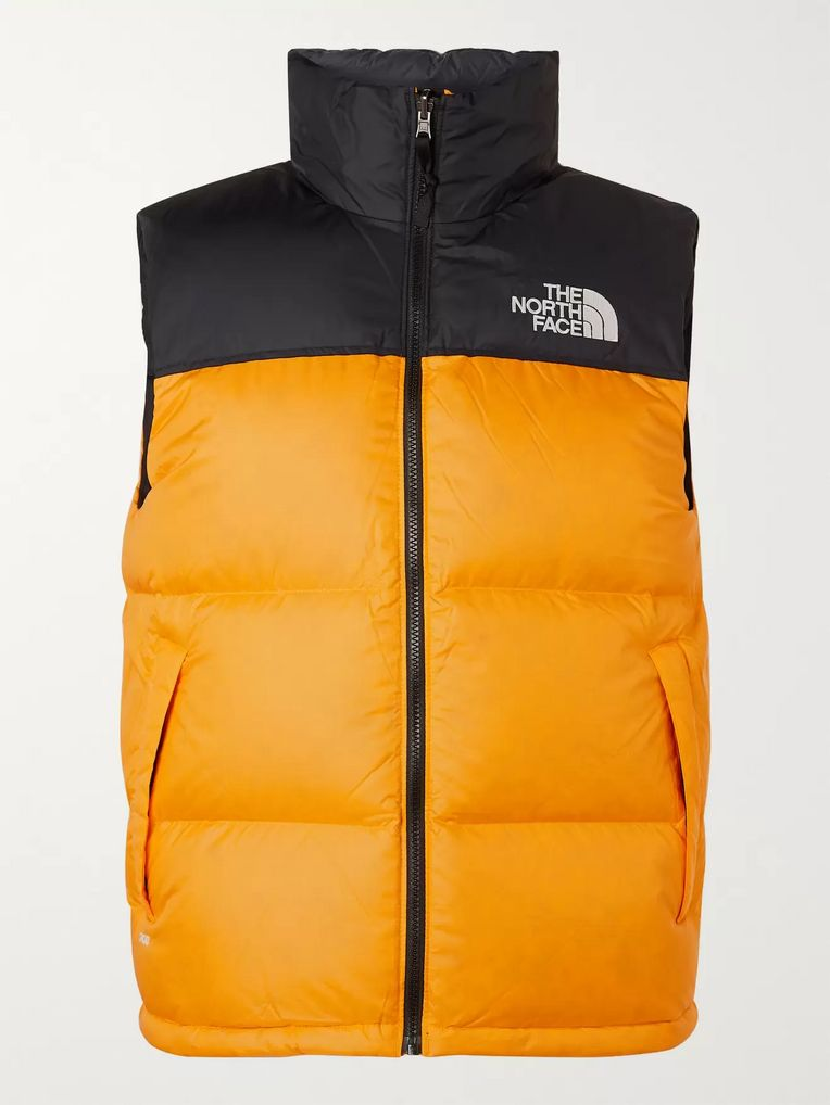 The North Face 1996 Nuptse Colour-Block Quilted Shell Down Gilet