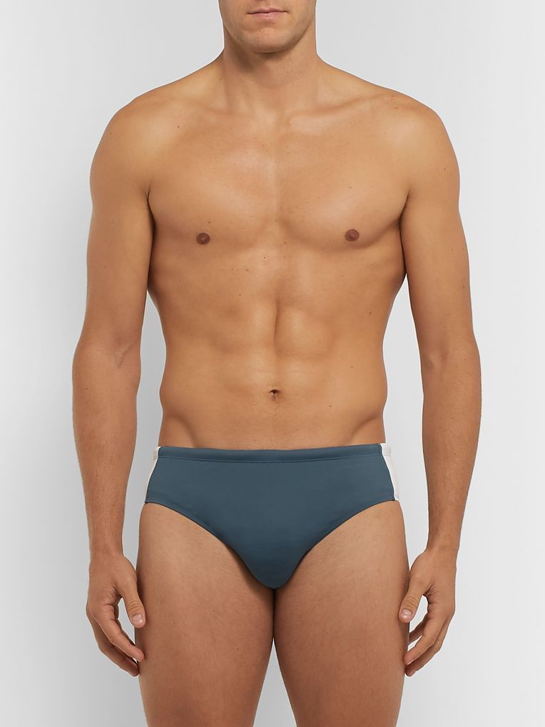 Orlebar Brown Dachshund Two-Tone Swim Briefs