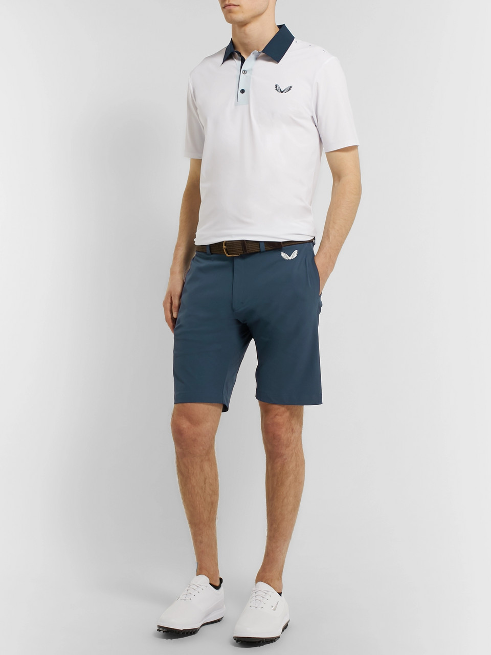 CASTORE Needley Shell Golf Shorts
