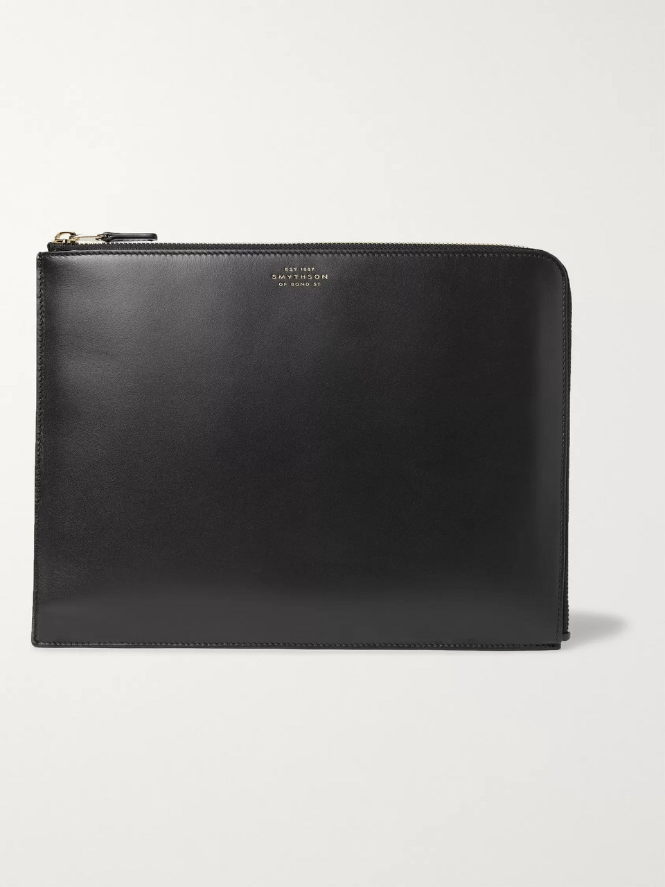 Smythson Bond Leather Pouch