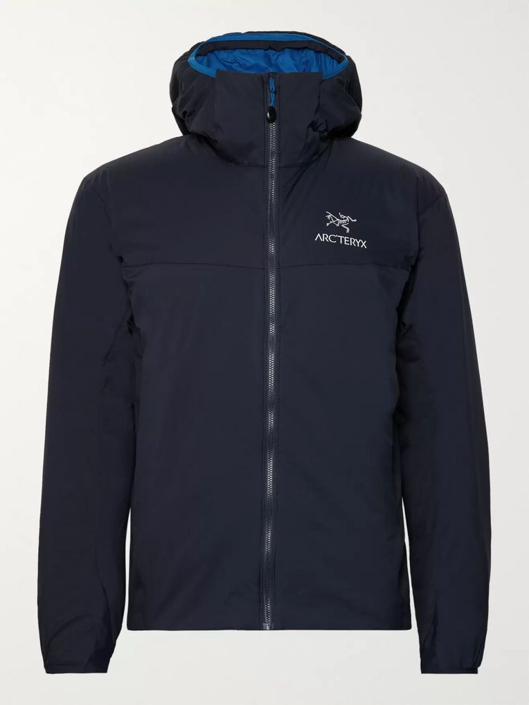 Arc'teryx Atom LT Padded Fleece-Panelled Tyono Hooded Jacket