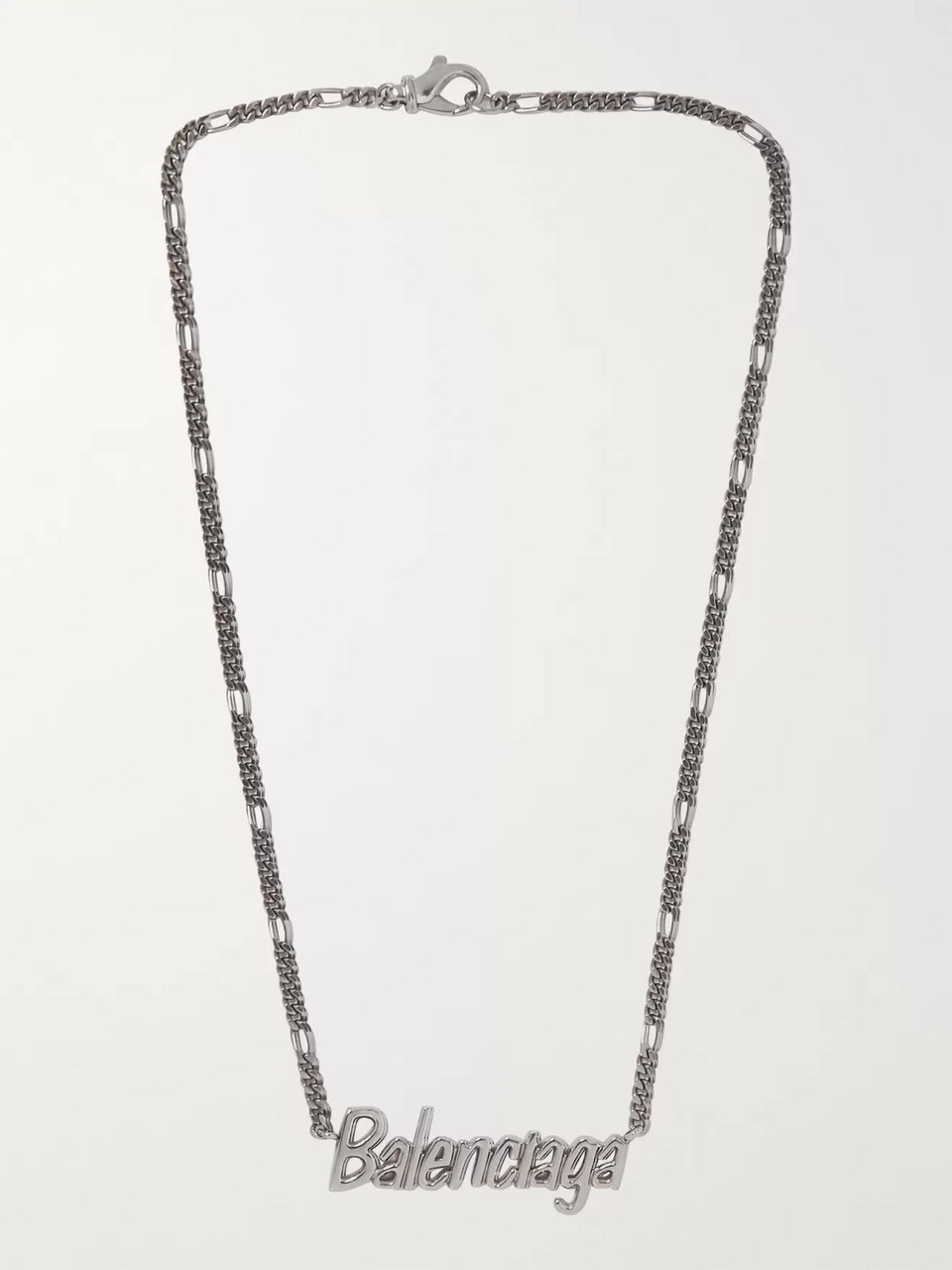 Balenciaga Silver-Tone Necklace
