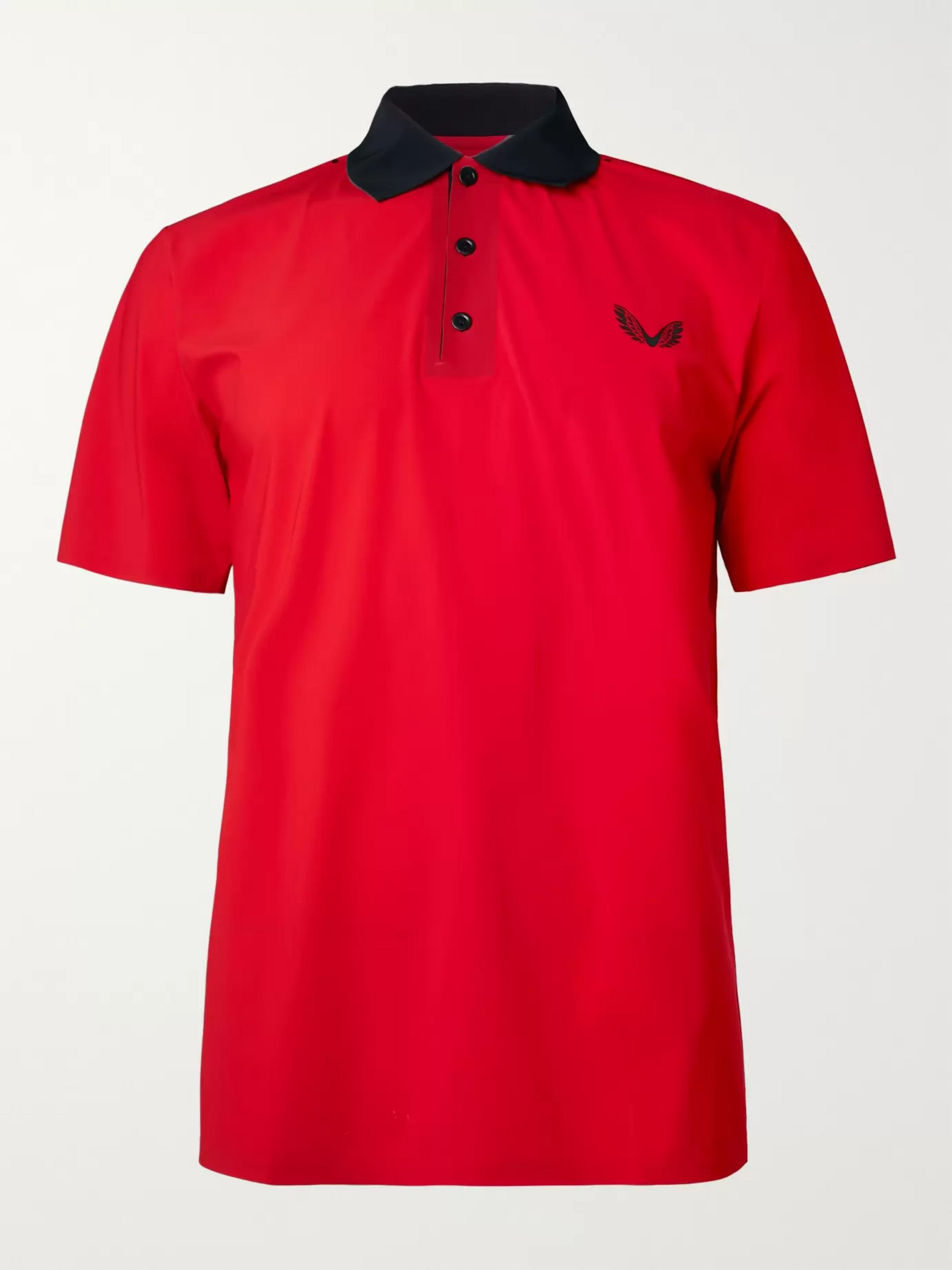 CASTORE Young Stretch-Jersey Polo Shirt