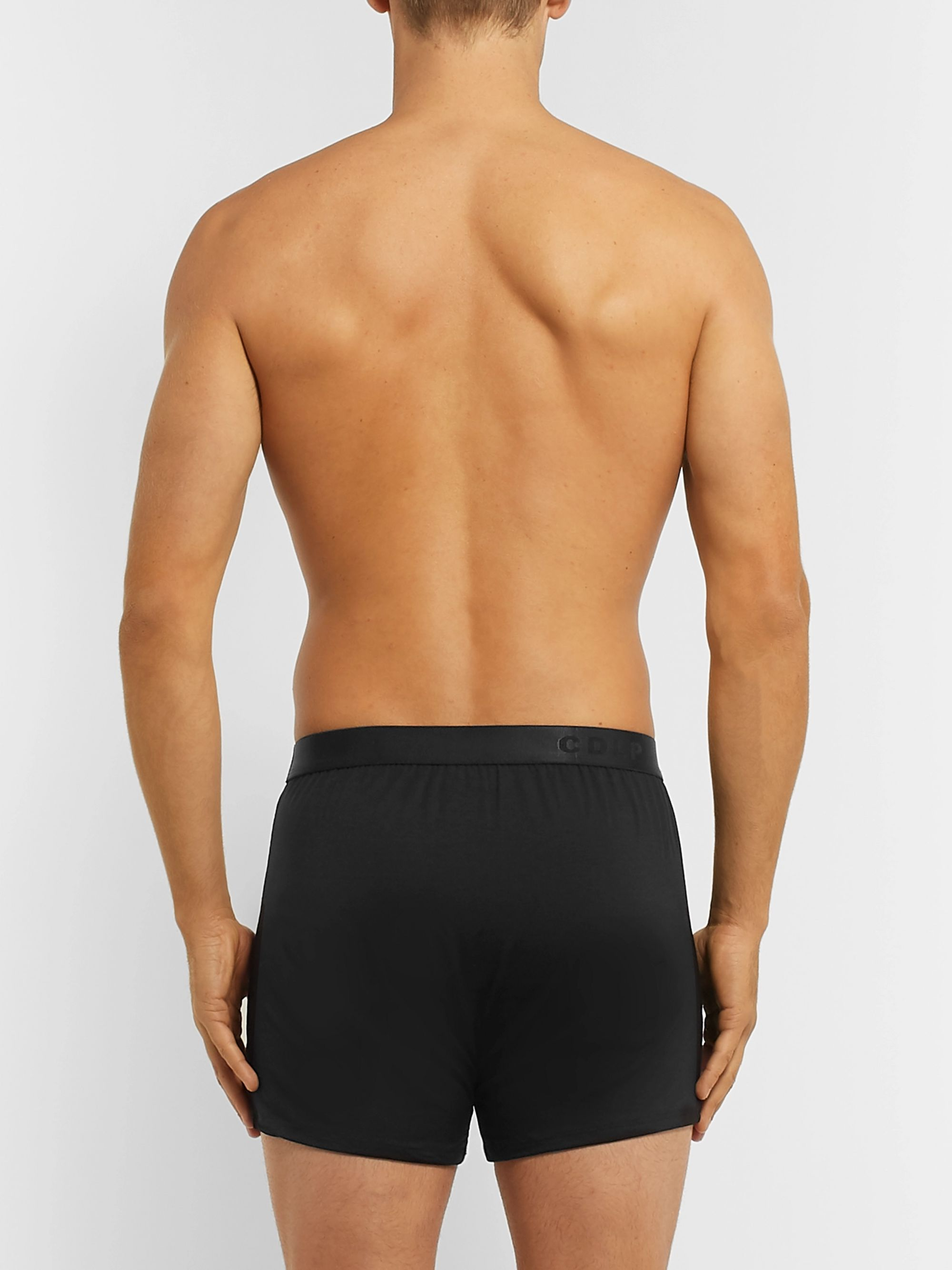 CDLP Stretch-Lyocell Boxer Shorts