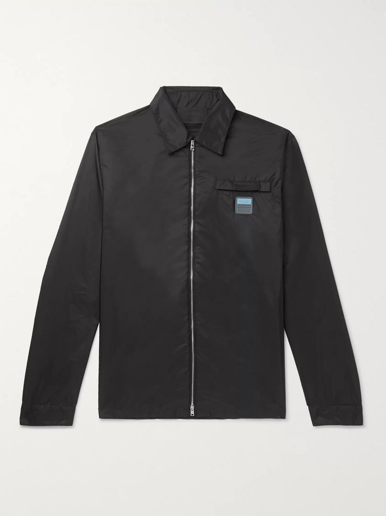 Prada Nylon Shirt Jacket
