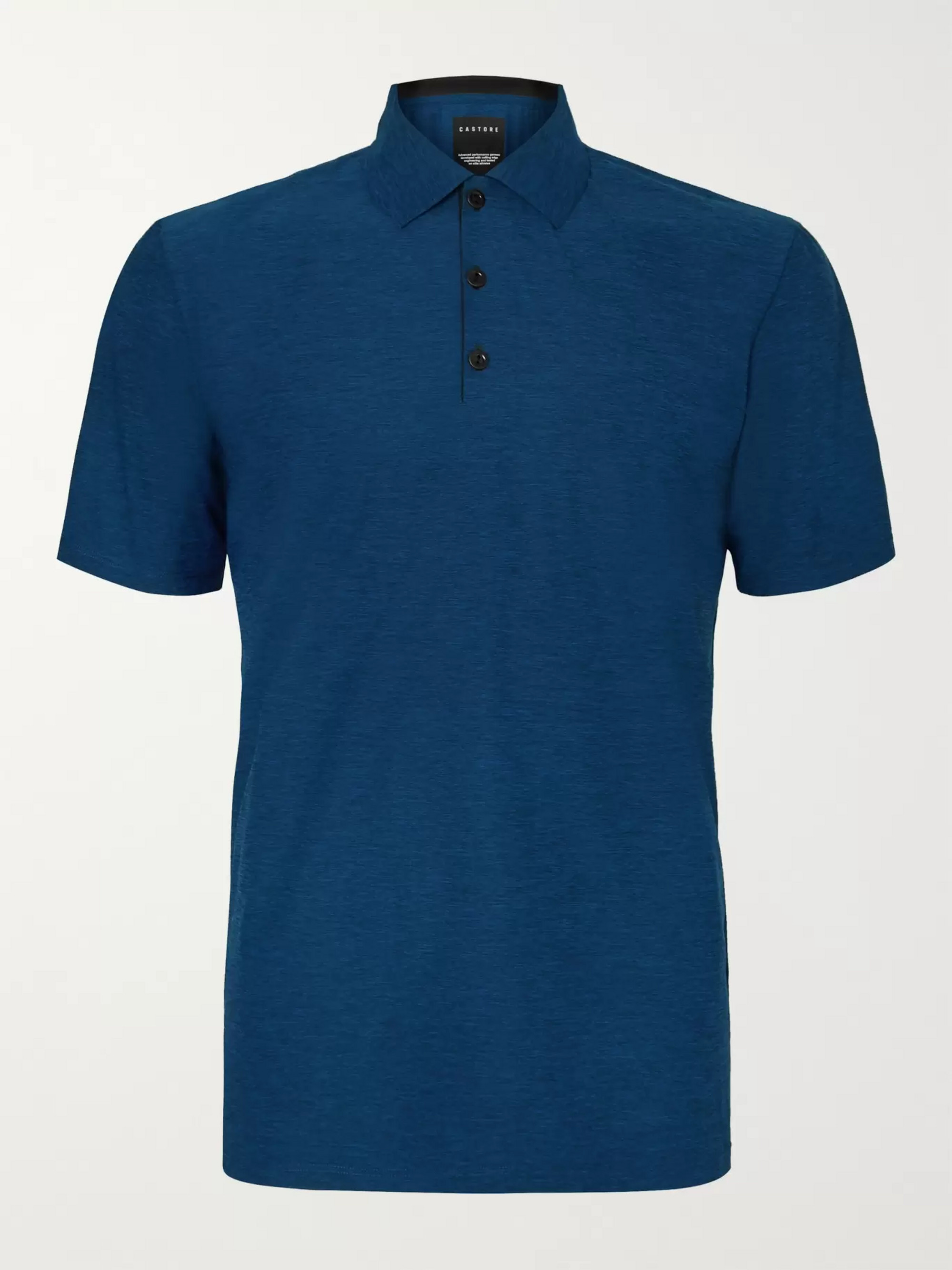 CASTORE Senior Slim-Fit Stretch-Jersey Golf Polo Shirt