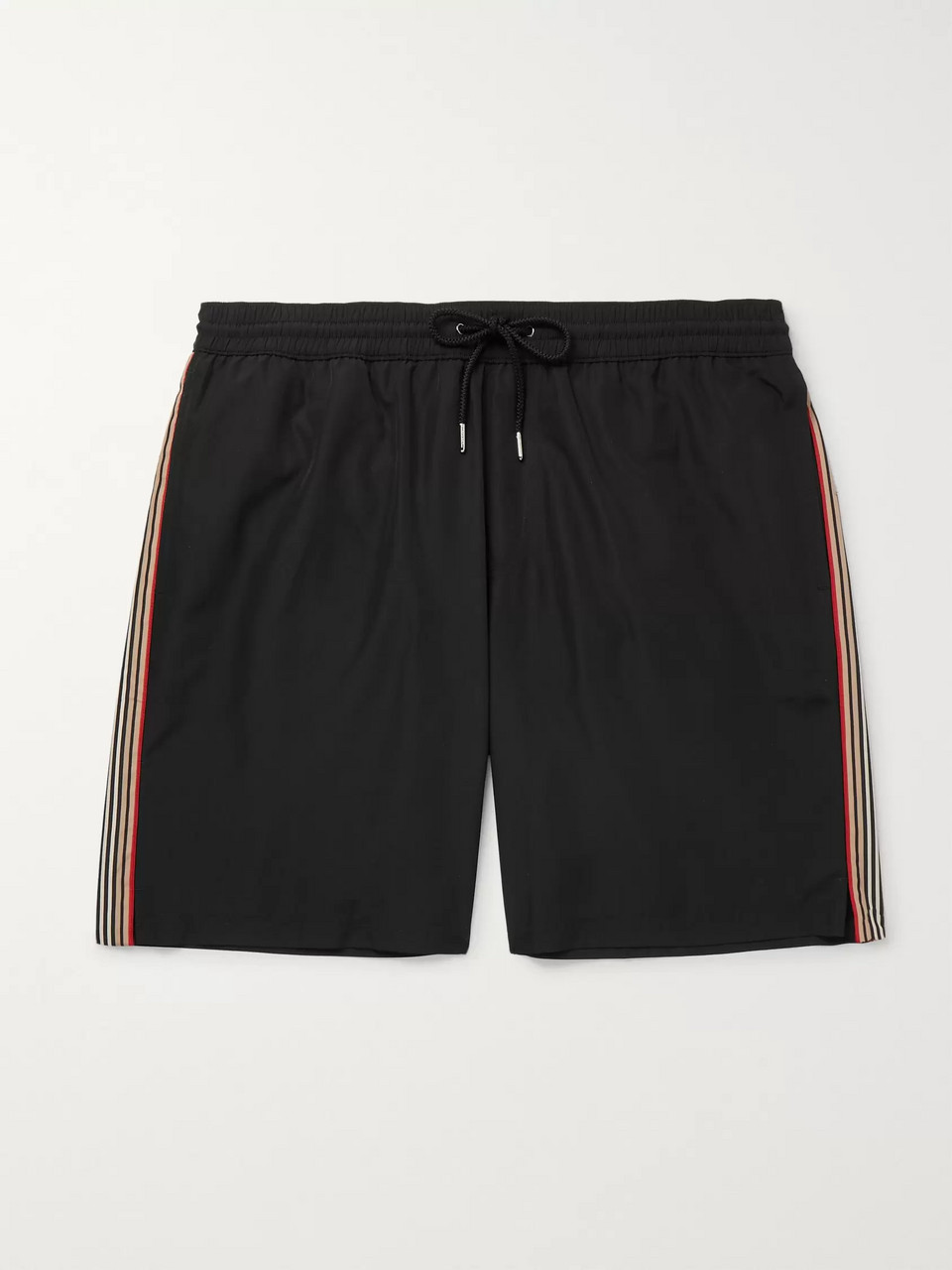 Burberry Mid-Length Striped Shell Swim Shorts