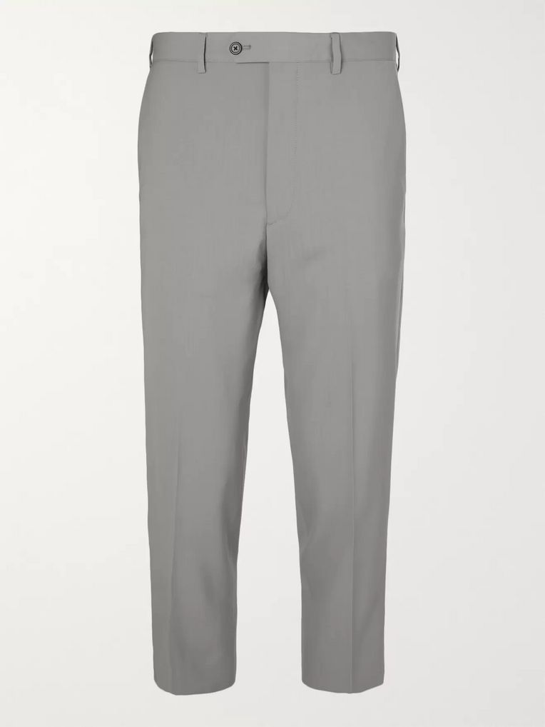 bed266fa Cropped Virgin Wool Trousers