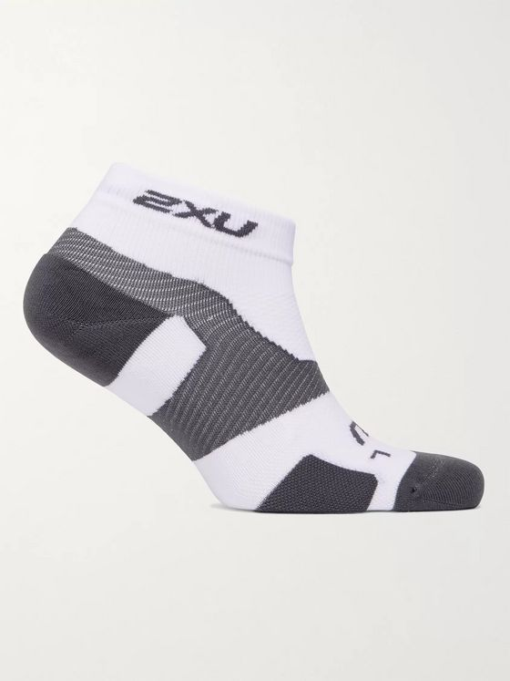 2XU Vectr Stretch-Nylon Crew Socks