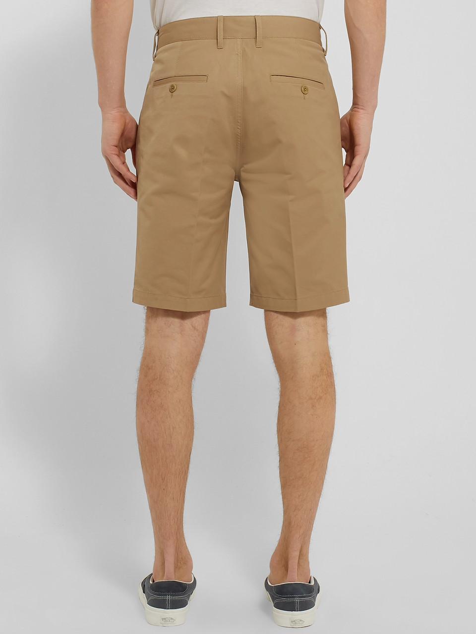Norse Projects Haga Technical Cotton-Blend Twill Shorts