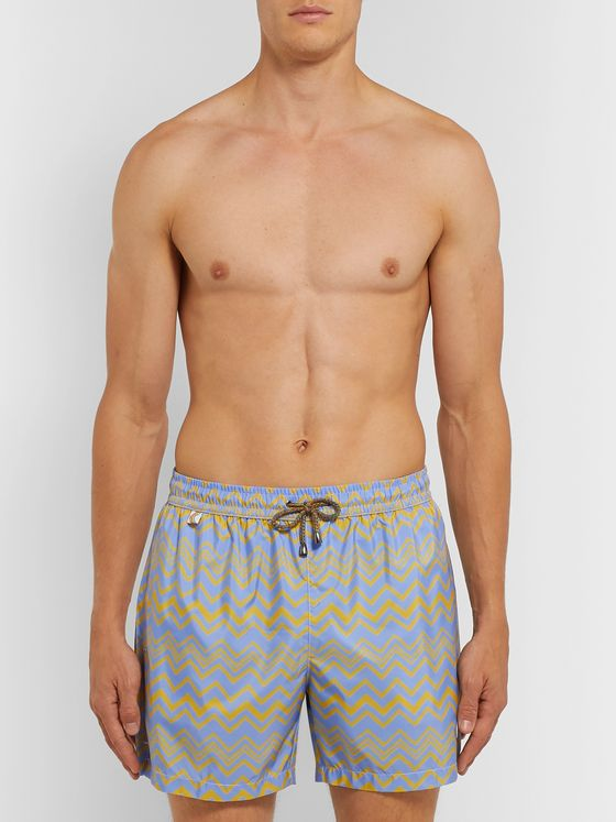 Missoni Mid-Length Printed Swim Shorts