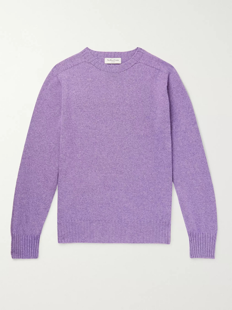 YMC Wool and Cotton-Blend Sweater