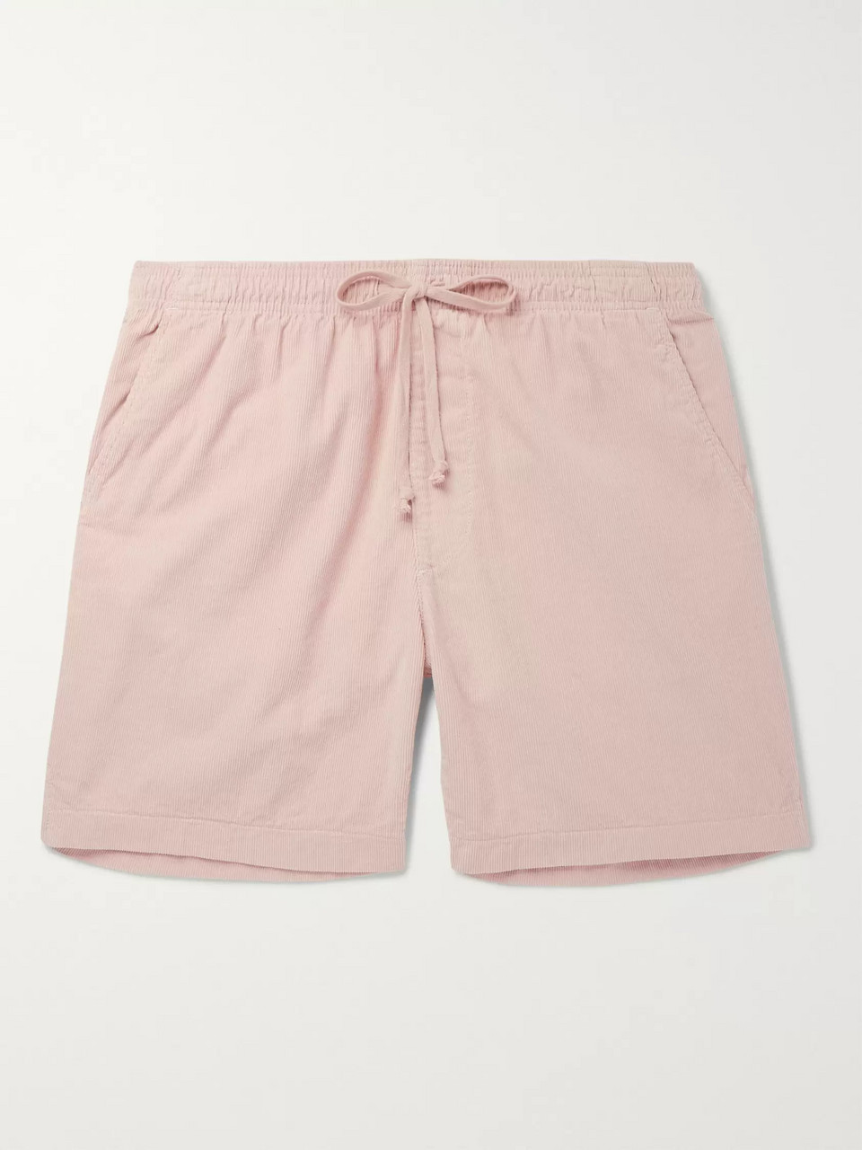 Save Khaki United Slim-Fit Cotton-Corduroy Drawstring Shorts