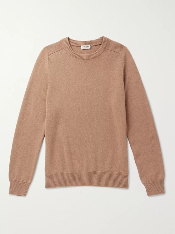 SAINT LAURENT Slim-Fit Cashmere Sweater