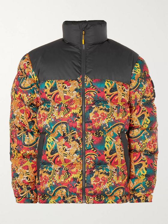 The North Face 1992 Nuptse Printed Quilted Shell Down Jacket
