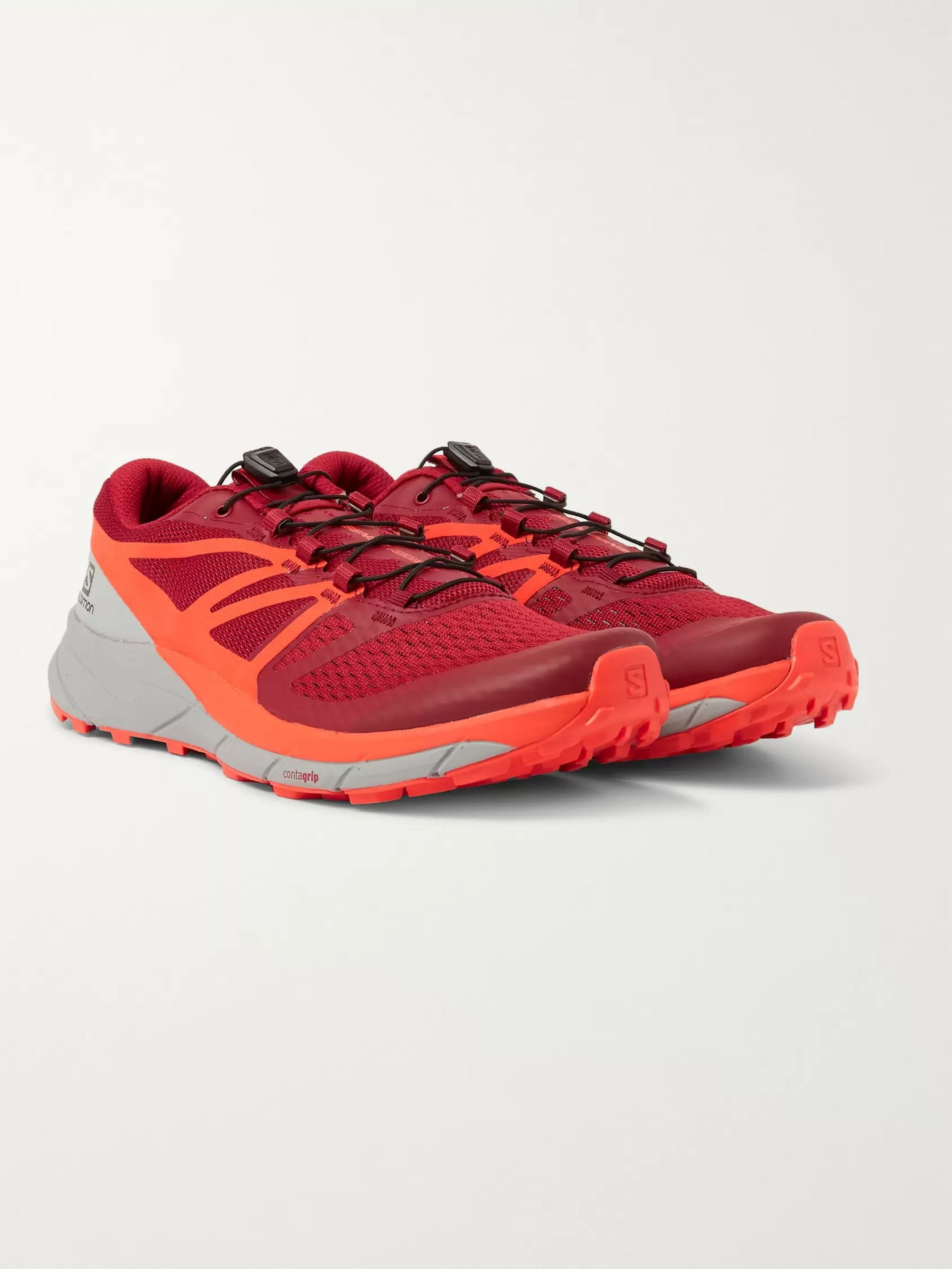 Salomon Sense Ride 2 Mesh and Rubber Running Sneakers