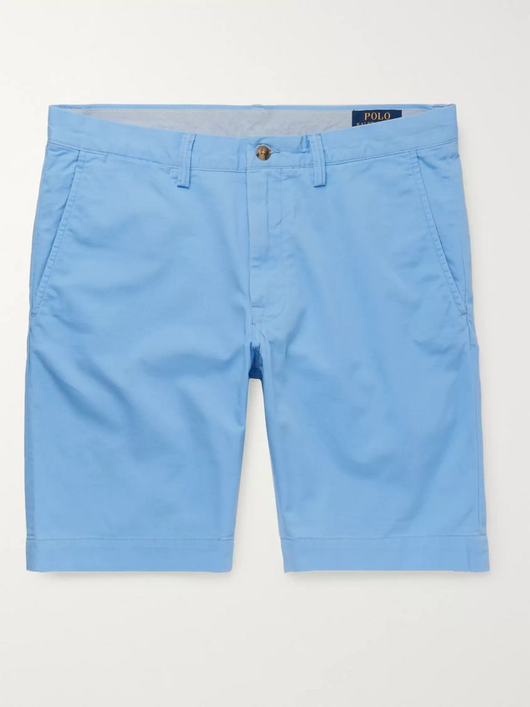 Polo Ralph Lauren Slim-Fit Stretch-Cotton Twill Chino Shorts