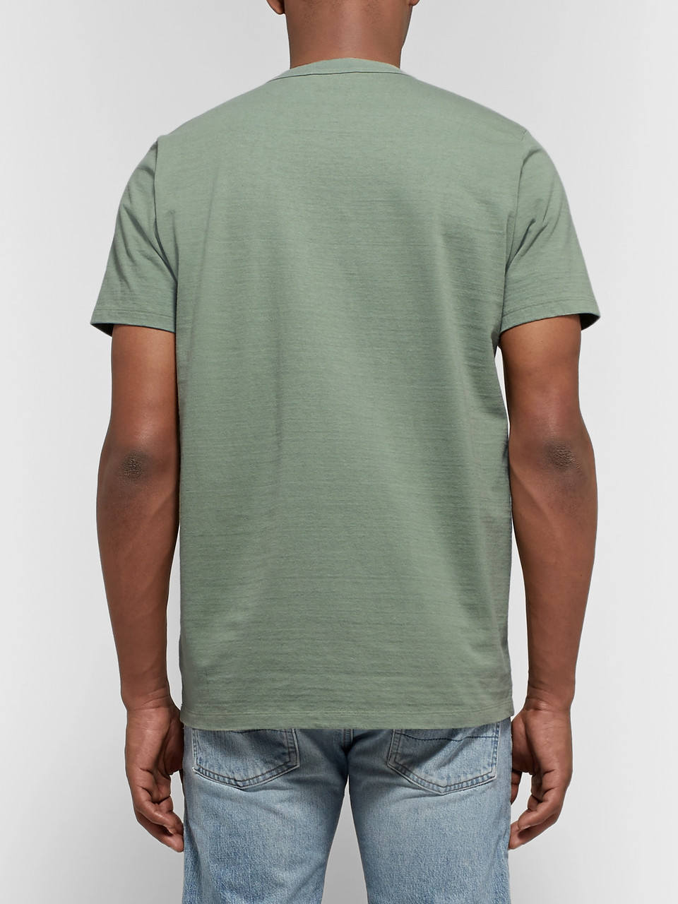 Fabric-Brand & Co Slub Cotton-Jersey T-Shirt