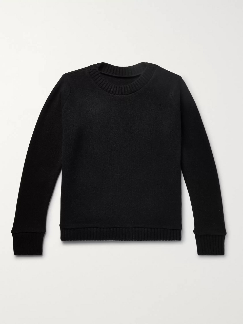 The Elder Statesman Intarsia Cashmere Sweater