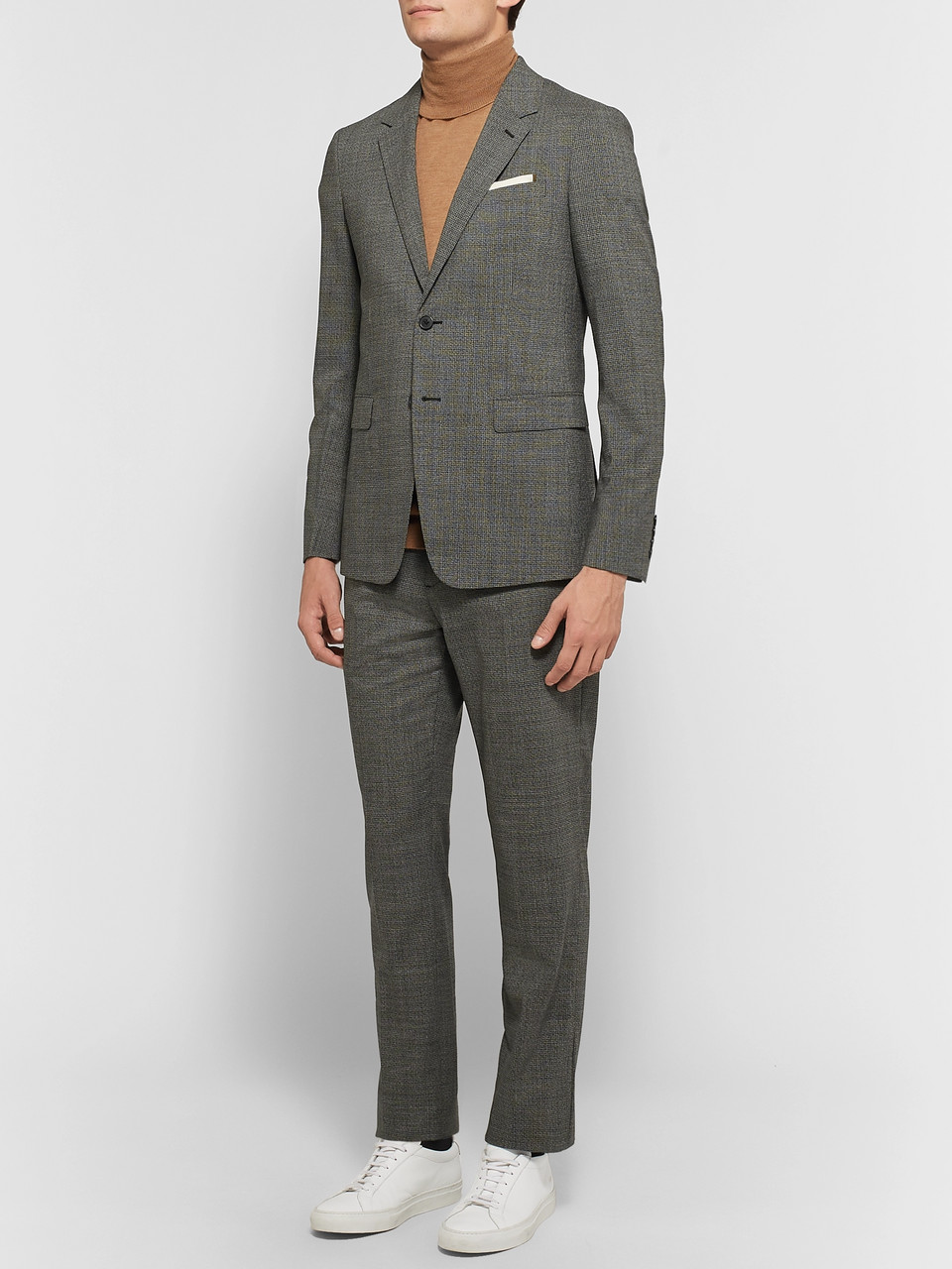 Theory Black Chambers Slim-Fit Stretch-Wool Suit Jacket