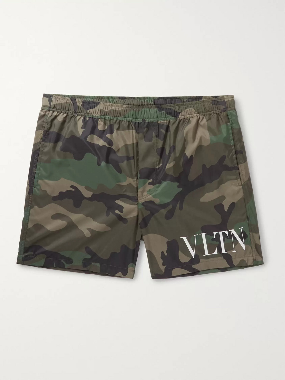 Valentino Mid-Length Printed Swim Shorts