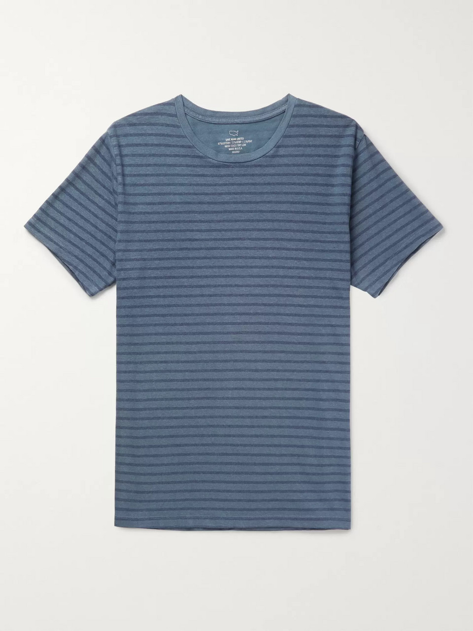 Save Khaki United Striped Cotton-Blend Jersey T-Shirt