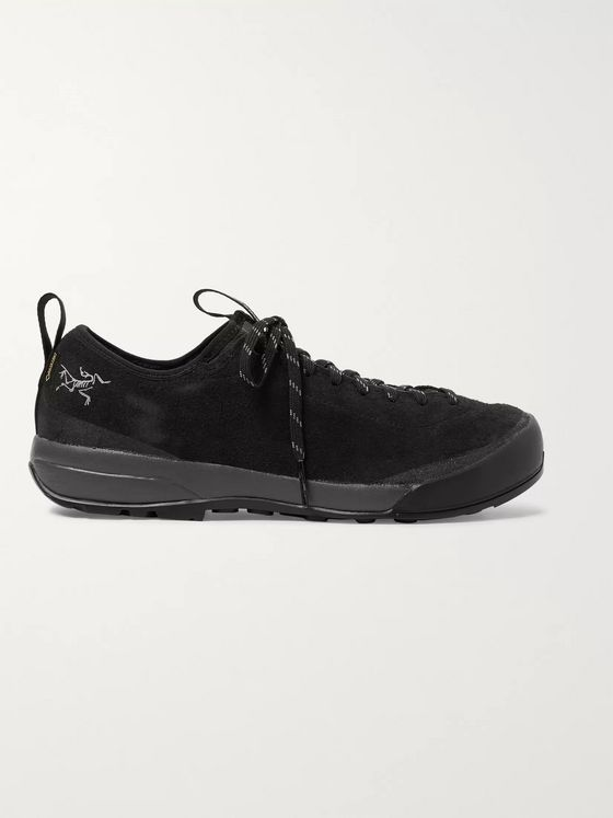 Arc'teryx Acrux SL Mesh-Panelled Suede and GORE-TEX Hiking Sneakers