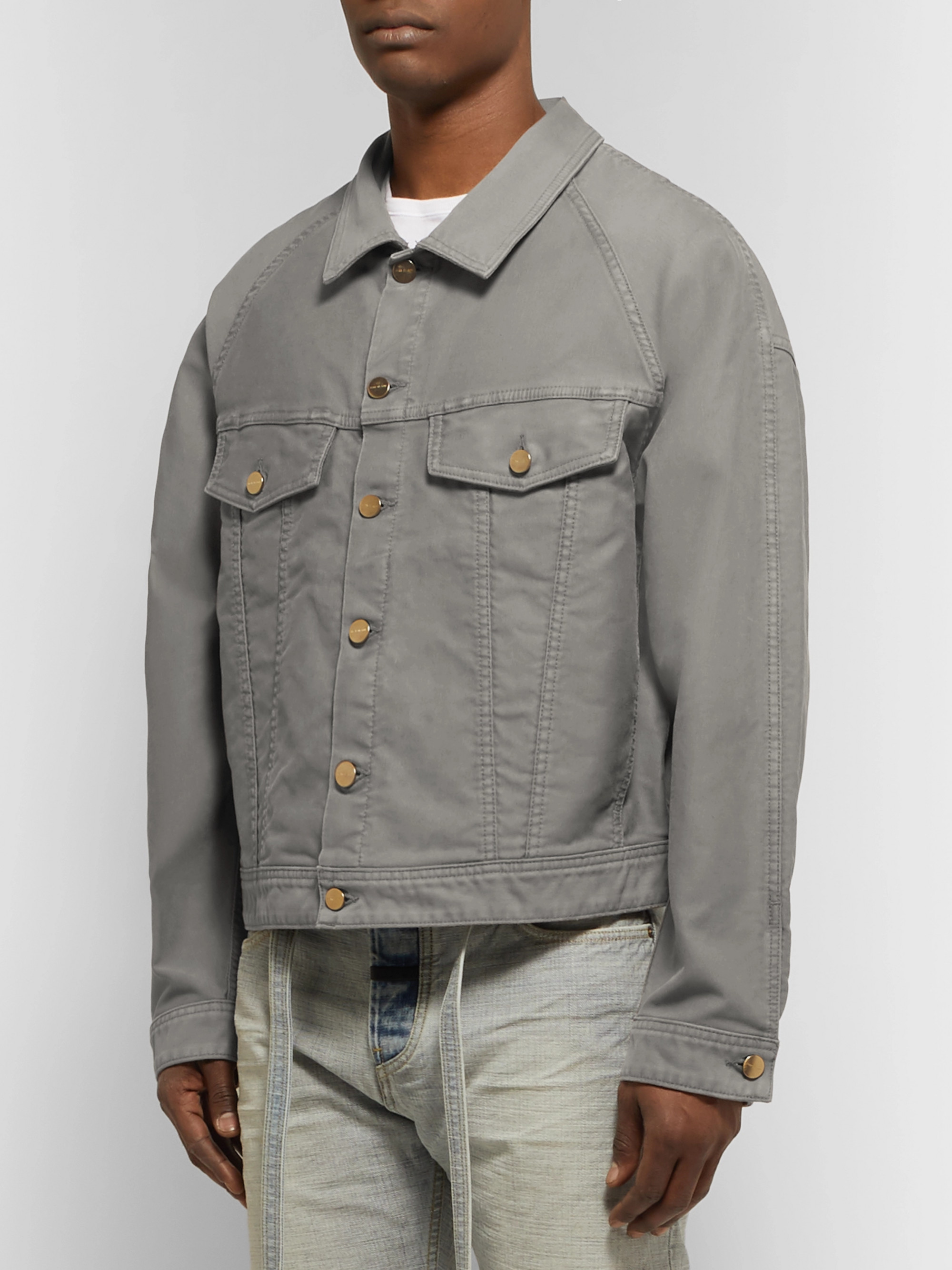 Fear of God Cotton-Corduroy Trucker Jacket