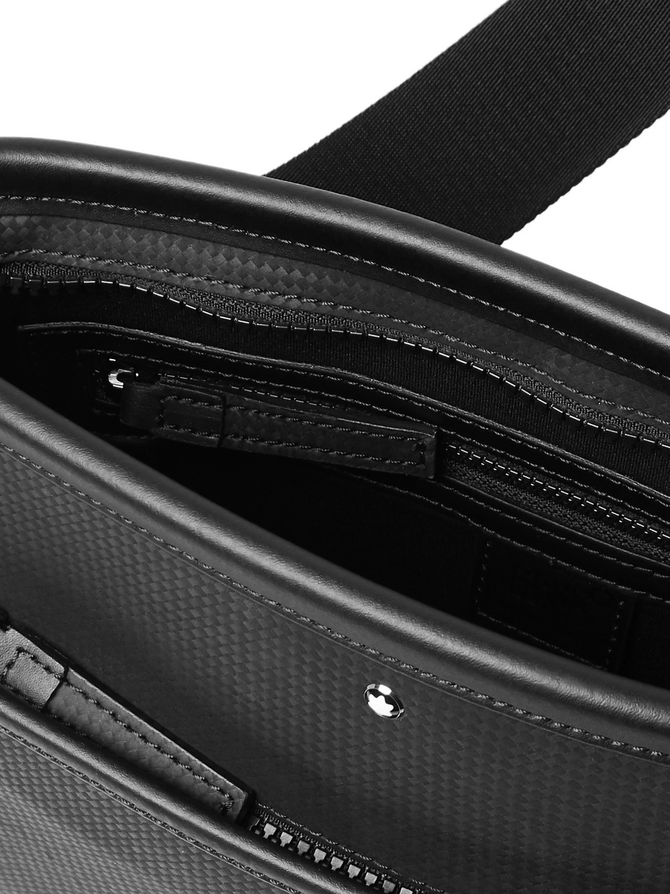 Montblanc Extreme Textured-Leather Messenger Bag
