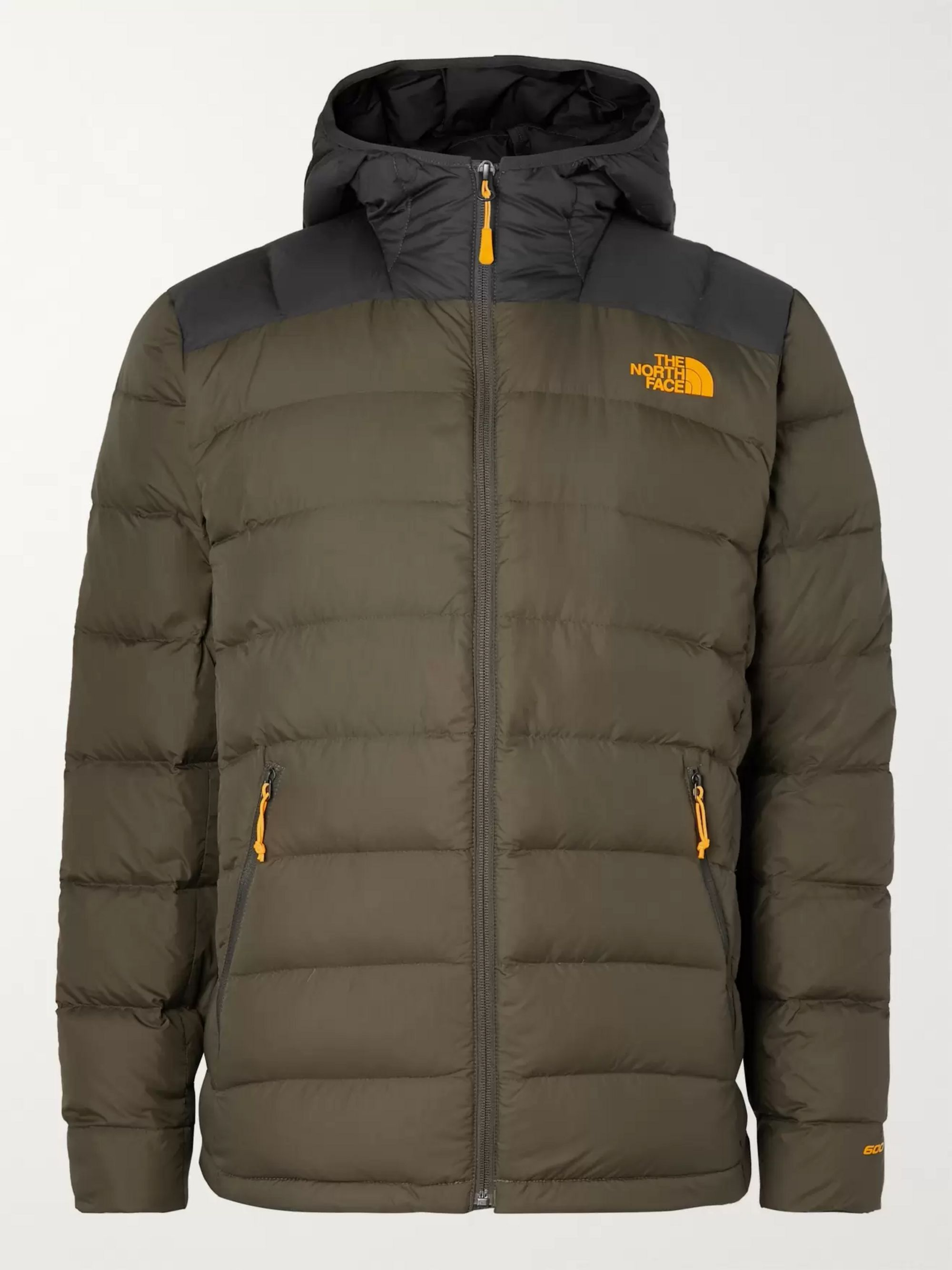 La Paz Slim Fit Quilted Nylon Hooded Down Jacket