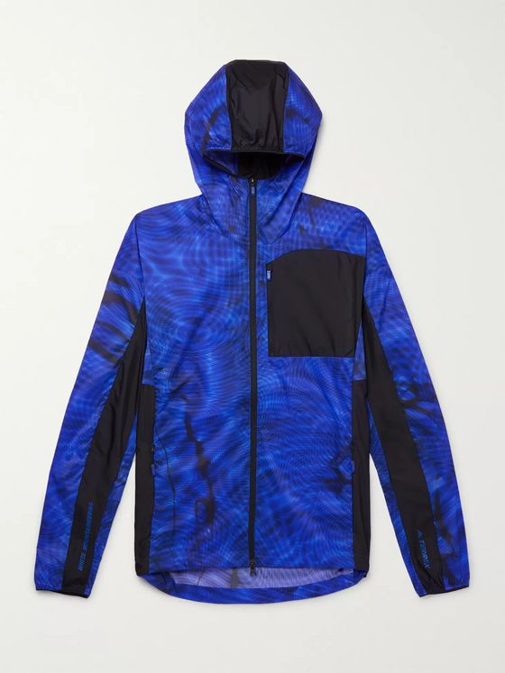 adidas Consortium + White Mountaineering Printed Terrex Ripstop Hooded Jacket