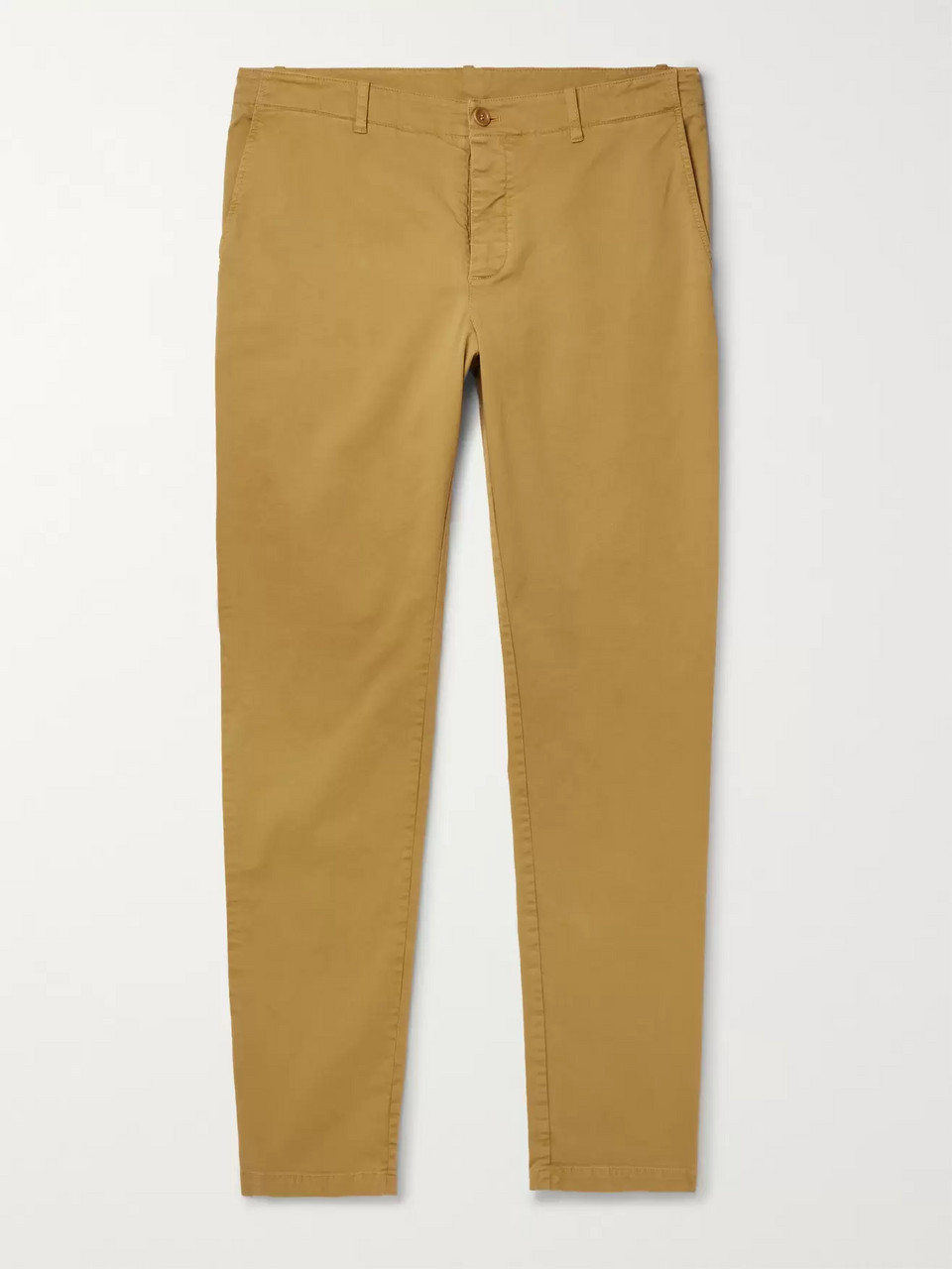 YMC Slim-Fit Tapered Cotton-Blend Twill Trousers
