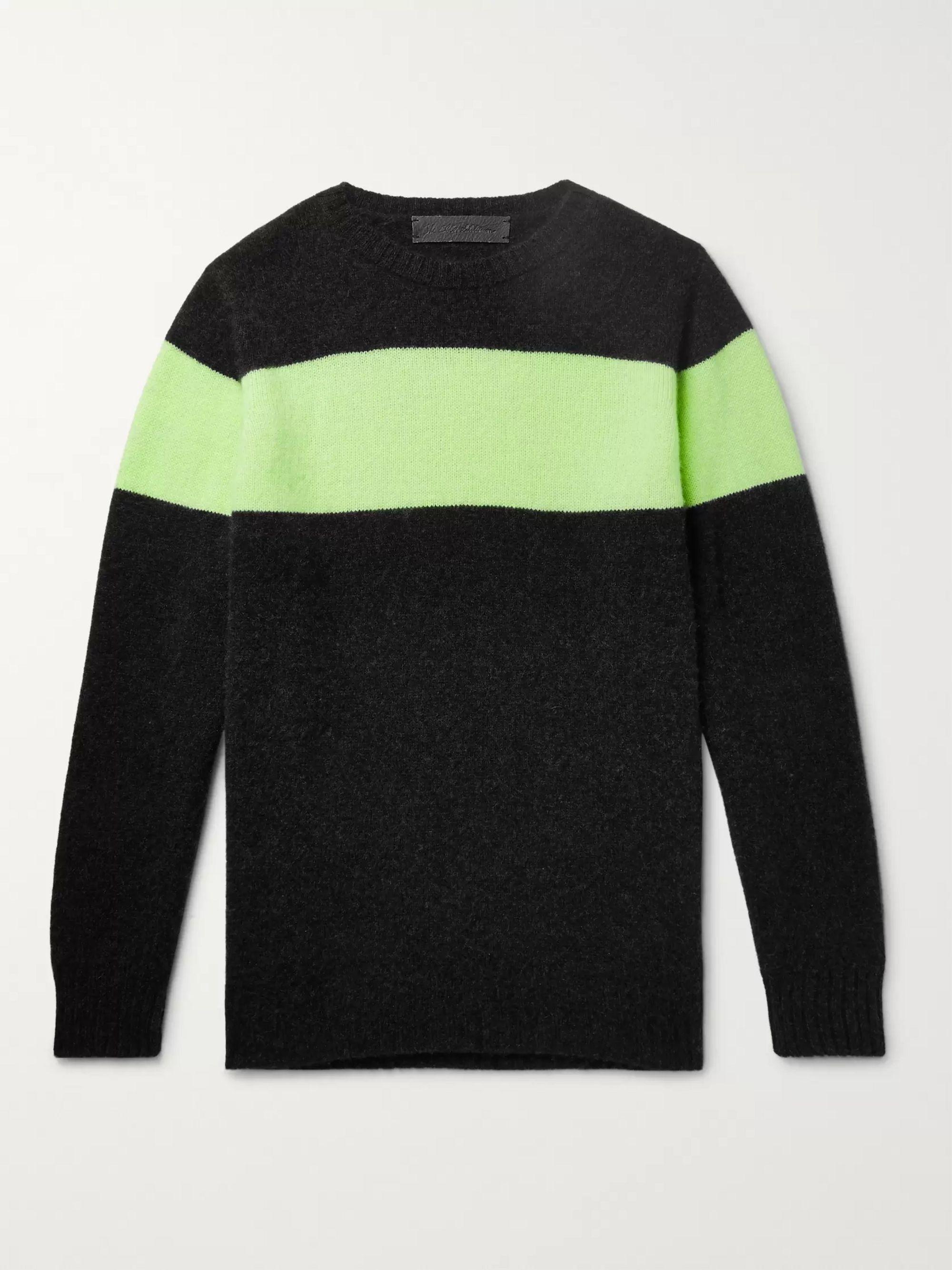 d78889ea52f Striped Cashmere Sweater