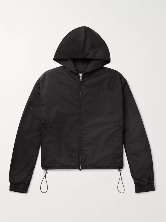 Fear of God Oversized Nylon Hooded Jacket